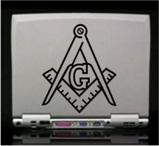Freemason Mason Die Cut Vinyl Decal Sticker