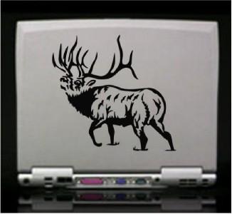 Elk Hunting Die Cut Vinyl Decal Sticker 18001