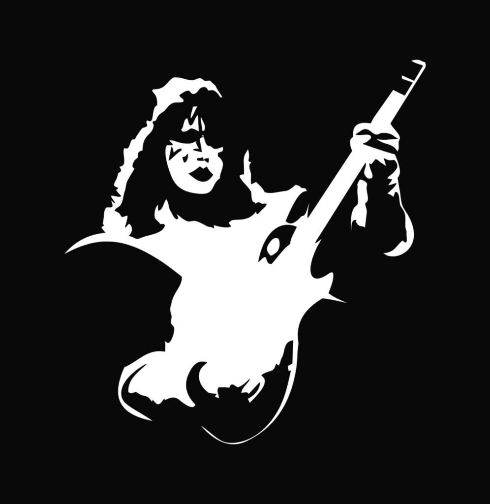 Kiss Ace Frehley Die Cut Decal Vinyl Sticker 5 75