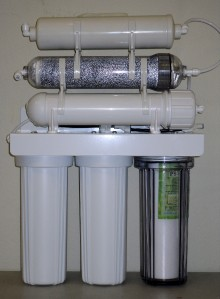 Dual Outlet Reverse Osmosis Di Ro Water Filter System 6