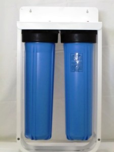 Dual Big Blue Water Filter Housing Sediment Carbon