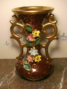 Vintage Art Pottery Vase - European Pottery for Sale - B