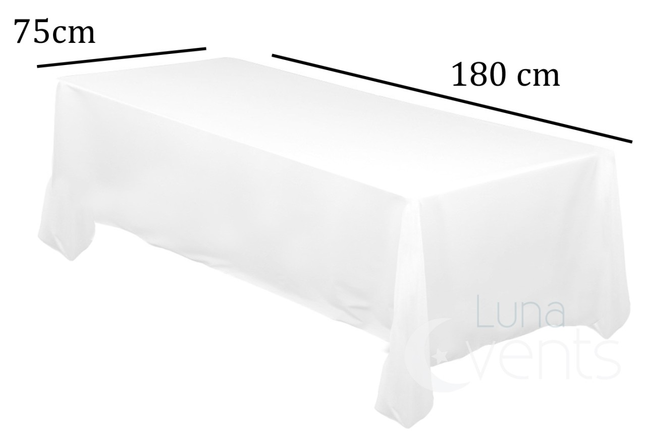 Tablecloths Wedding Rectangle Square Event Party Fitted