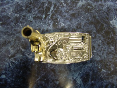 Derringer Belt Buckle Gun For Sale Zero w Toy Gun Belt Buckle