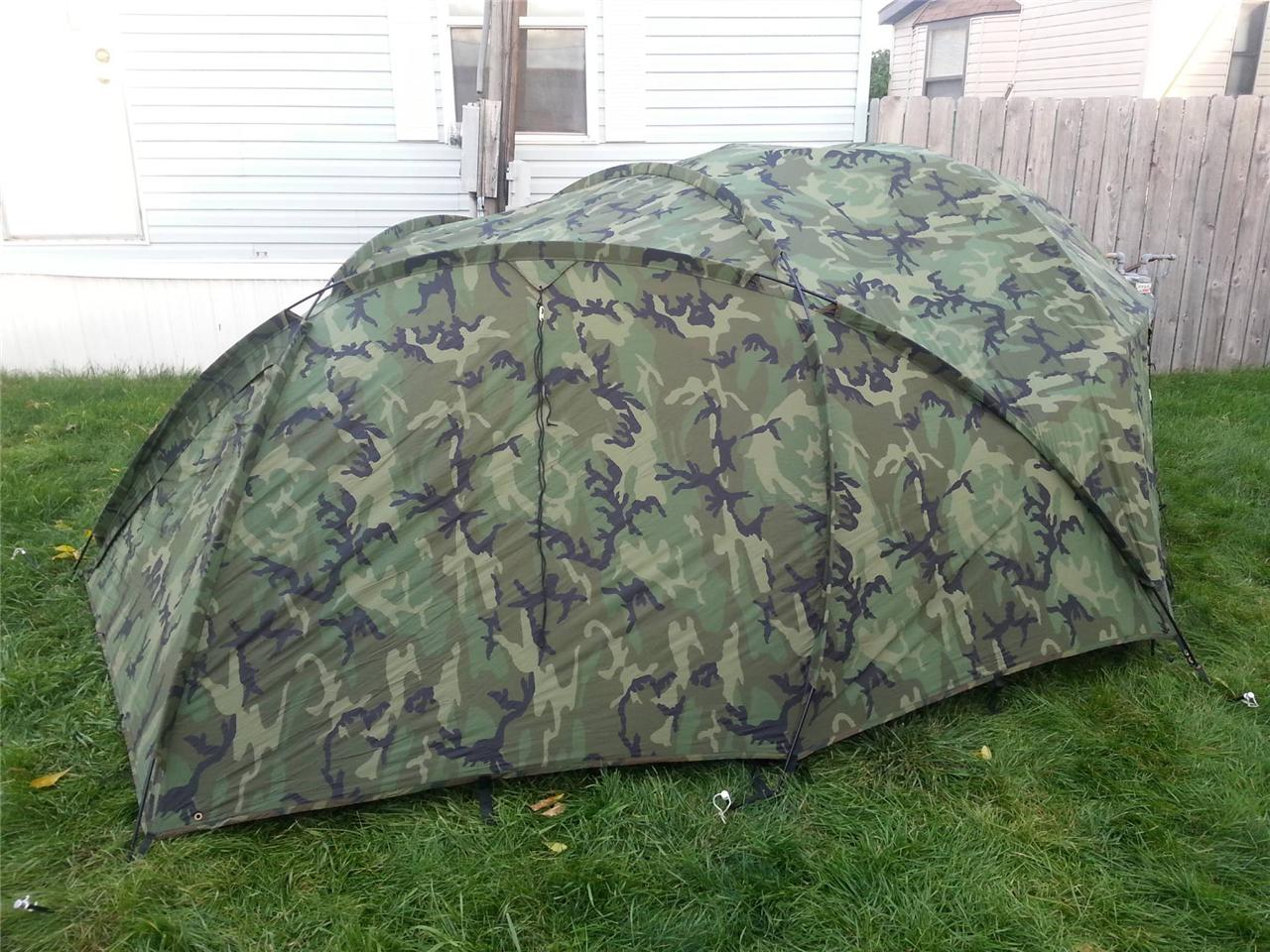 ... The-North-Face-ECWS-ECWT-Camo-replacement-Tent- & The North Face ECWS ECWT Camo replacement Tent FLY u0026 Poles Eureka ...