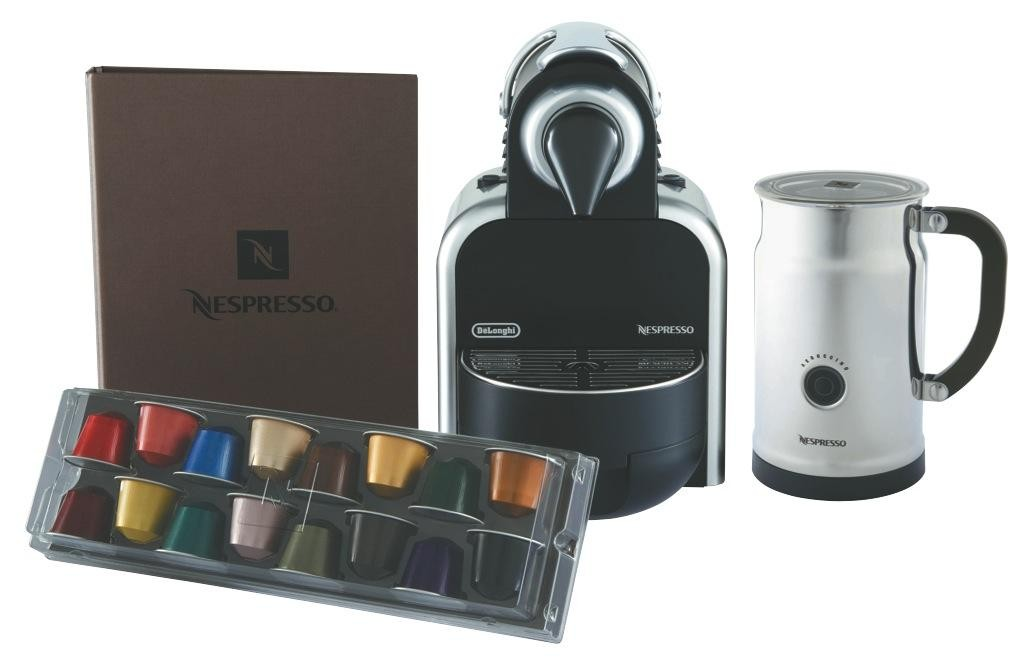 how to open delonghi nespresso machine