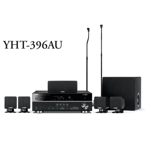 Yamaha-3D-Home-Theatre-Systems-5-1Ch-Satellite-Speakers-YHT396AU-AV-Receiver