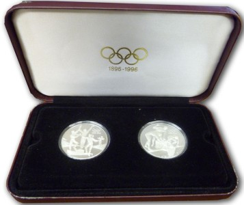 2 x  20 silver coin set