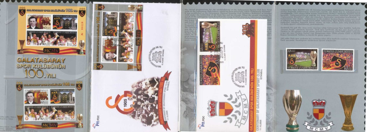 TURKEY-100TH-ANNIV-GALATASARAY-ISTANBUL-FOOTBALL