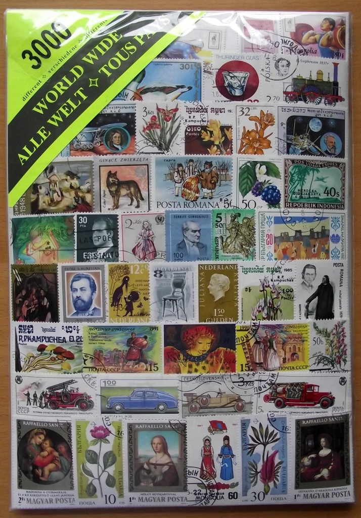 STAMP-JUMBO-SIZE-3000-MIXED-WORLD-STAMPS-USED-OFF-PAPER-ALL-DIFFERENT