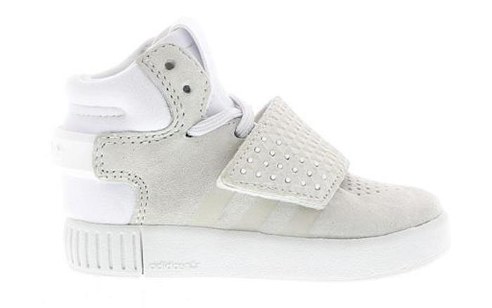 Adidas Boy's Tubular Invader Strap El I Sneakers (Toddler)