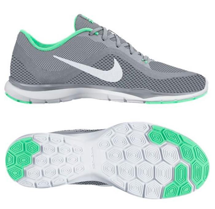 1611 Nike Flex Trainer Tenis 6 Mujer Entrenamiento Correr Tenis Trainer 831217 008 2a3fe8