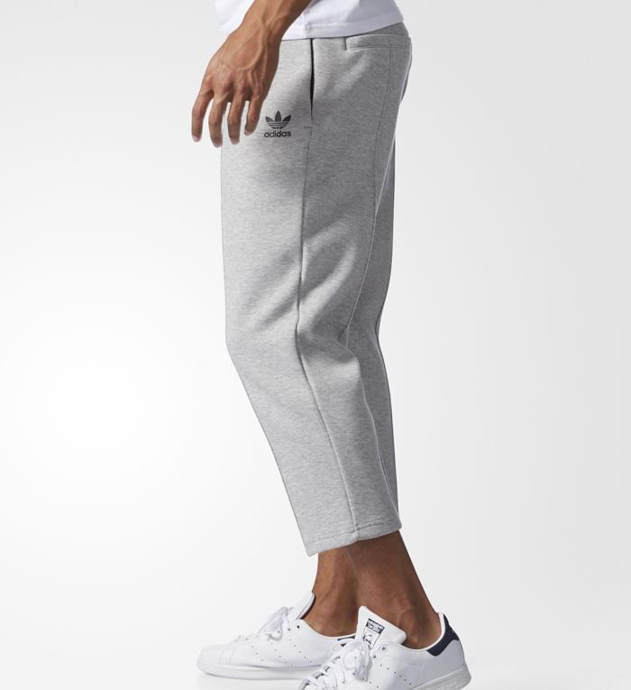 1612 adidas Originals Men's Cropped Pintuck 7/8 Pants ...
