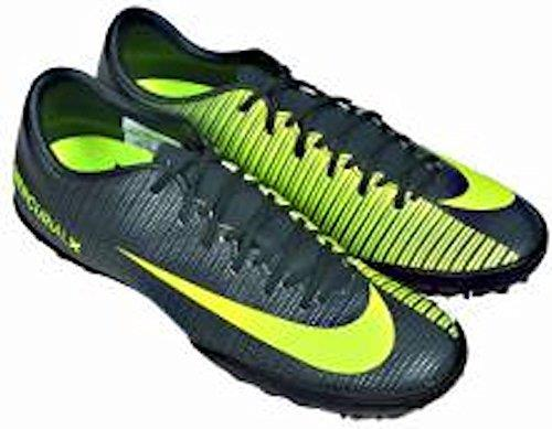 Nike Mercurial Victory VI TF CR7 Men's Turf Soccer Football Shoes Seaweed