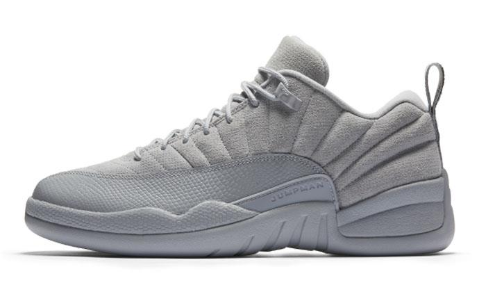 1703 Nike Air Jordan 12 Retro Low Men's Sneakers Basketball Shoes 308317-002