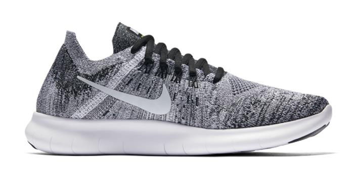 1704 Nike Free RN Flyknit 2017 Women's Running Shoes 880844-003