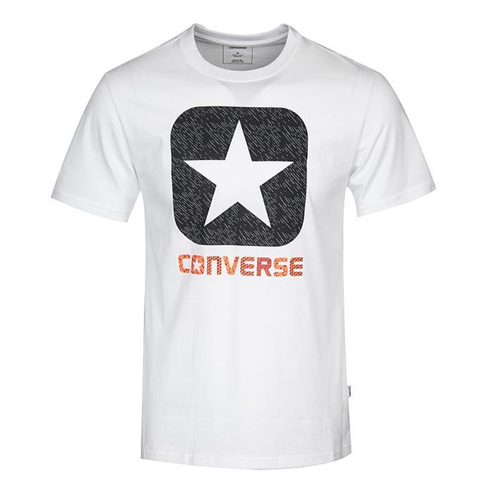 Converse TEXTURE BOXSTAR FILL TEE BLAC mIqTLC