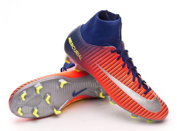 Nike Mercurial Victory VI DF FG  Soccer Cleats Football Shoes Deep Royal/Cr 1706