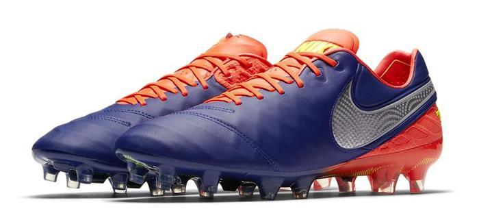 Nike Tiempo Legend VI FG Men's Soccer Cleats Football Shoes Deep Royal/Cr 1706