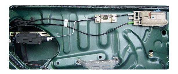 Remote Central Locking Cable Kit Ford Ka Fiesta Mercs 2