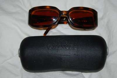 Chanel Eyeglass Frames With Rhinestones : Authentic Chanel Eyeglass Frames with Rhinestones and Case ...