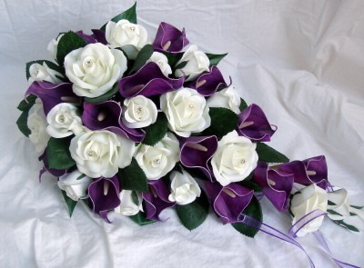Bridal Bouquet Calla Lilies And Roses