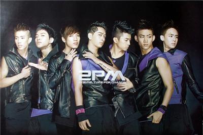 2PM Korean Boy Band Poster 1812