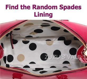 Kate Spade Flicker Melinda Berry Patent Leather Satchel Bag NWT