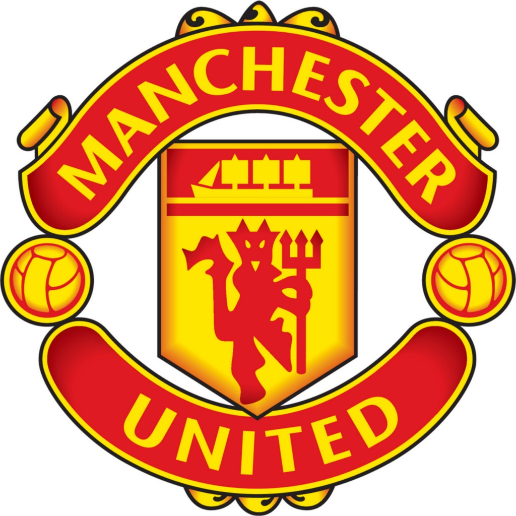 MANCHESTER UNITED MANU Decal Removable HUGE WALL STICKER ...
