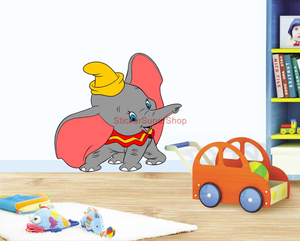 dumbo choose your size decal removable vinyl wall sticker walt disney dumbo wall quote decal sticker art vinyl mural