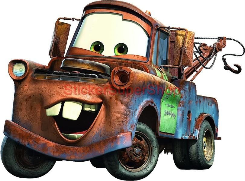 Choose size mater cars decal removable wall sticker art for Cars movie wall mural