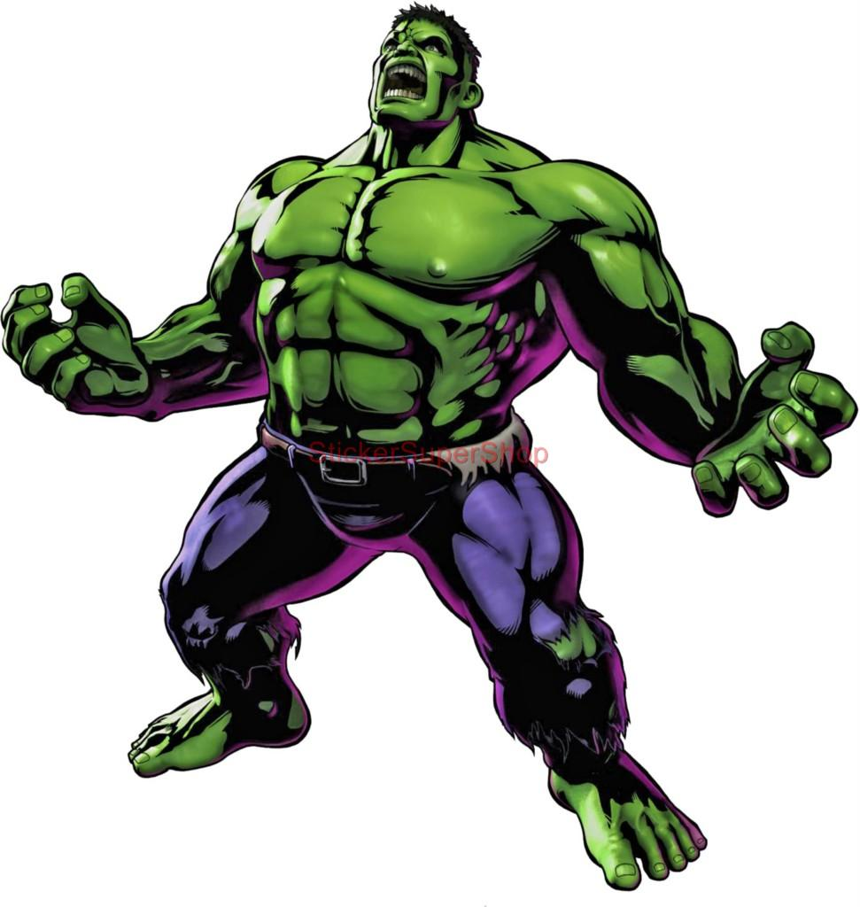 Choose Size Incredible Hulk Decal Removable Wall Sticker Art Home ...