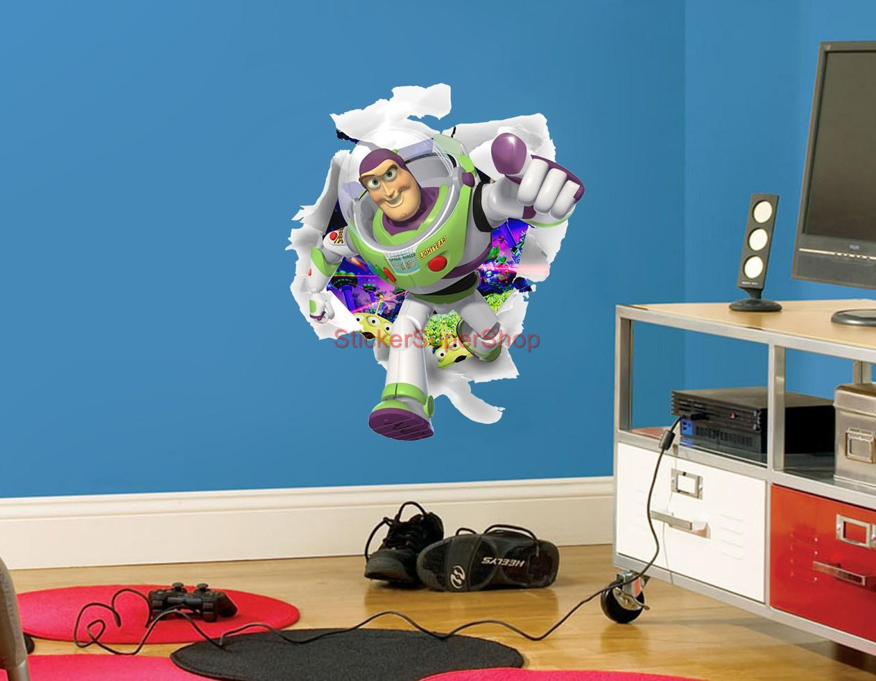 buzz lightyear toy story decal removable wall sticker art popular buzz lightyear stickers buy cheap buzz lightyear