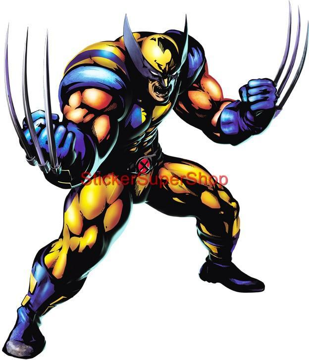 Choose Size X Men Wolverine Decal Removable Wall Sticker