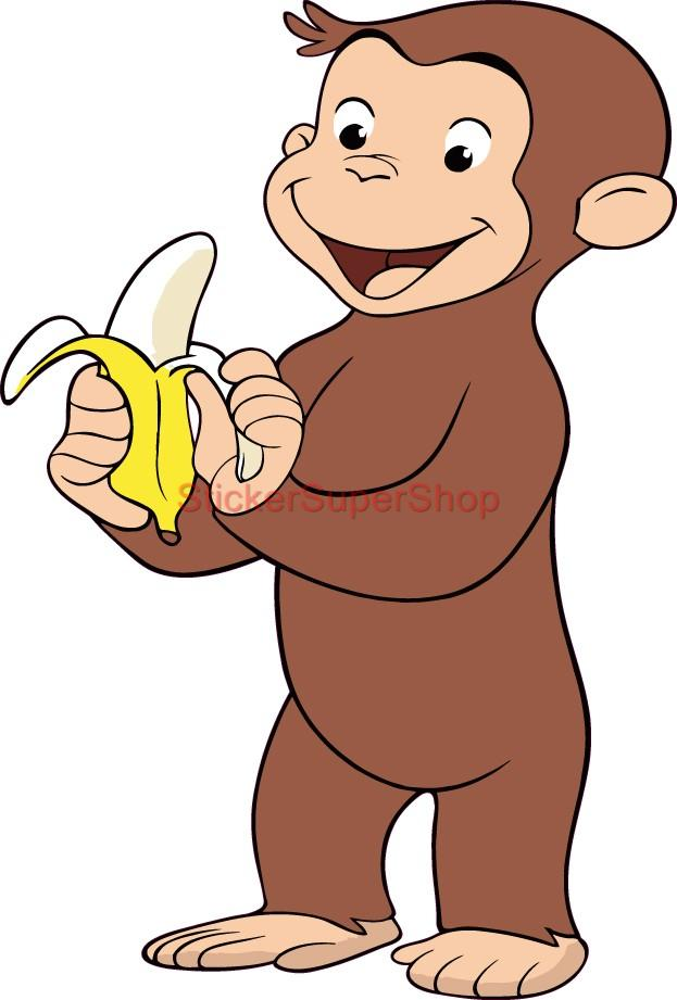 Curious george clip art car interior design for Curious george mural