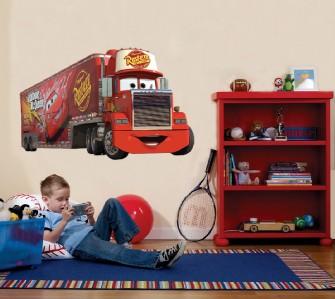 huge mack truck cars disney decal removable wall sticker disney cars wall art ebay