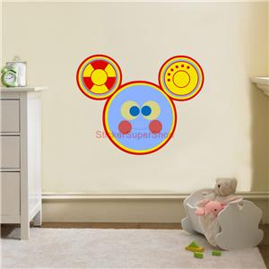 Toodles mickey mouse clubhouse disney decal removable wall - Mickey mouse clubhouse bedroom decor ...