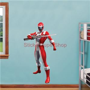 power rangers red decal removable wall sticker home decor huge blue power ranger decal removable wall sticker home