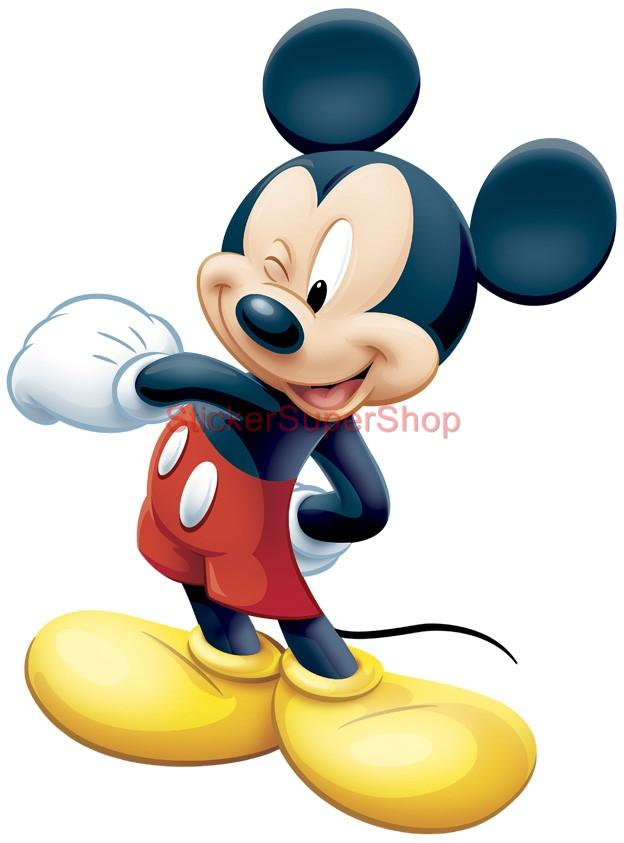 Disney Mickey Mouse Decal Removable Wall Sticker Home Decor Art Boys