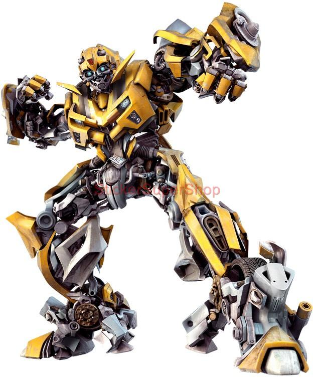 bumblebee transformers decal removable wall sticker home