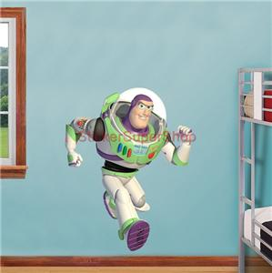 BUZZ LIGHTYEAR Toy Story Decal Removable WALL STICKER Decor Art Movie 2 3 eBay