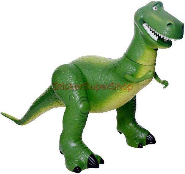 Toy Story Dinosaur : Choose size rex dinosaur toy story decal removable wall