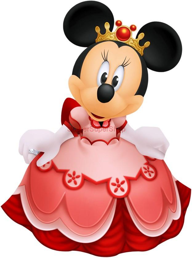Princess Minnie Mouse Decal Removable Wall Sticker Home Princess Minnie Mouse