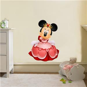 huge princess minnie mouse decal removable wall sticker decor art