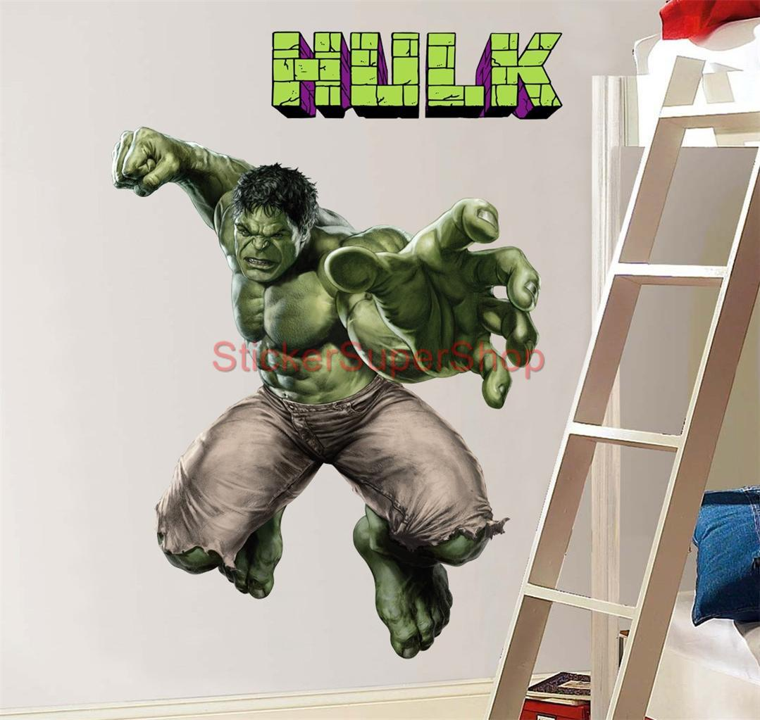 hulk grip the avengers decal removable wall sticker home