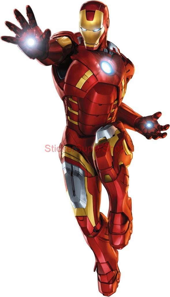 iron man the avengers decal removable wall sticker home