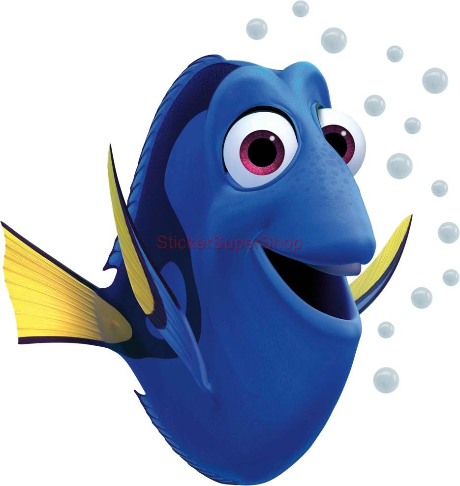 huge dory finding nemo disney decal removable wall sticker