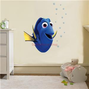 Dory finding nemo disney decal removable wall sticker home for Finding dory wall decals