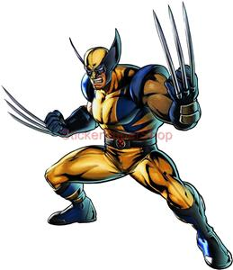 Wolverine X Men Decal Removable Wall Sticker Home Decor