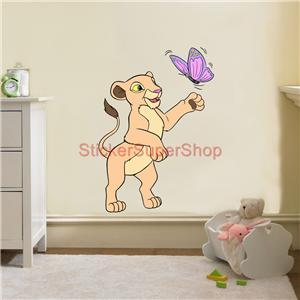 nala lion king disney decal removable wall sticker home